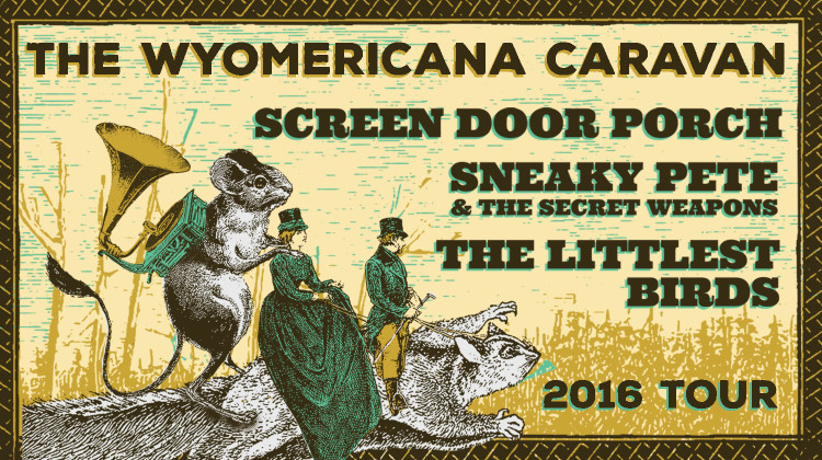 4th Annual WYOmericana Caravan Lineup + Tour Announced!